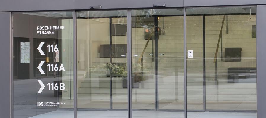 Automatische Glazen Deuren.Automatische Schuifdeuren Alvista